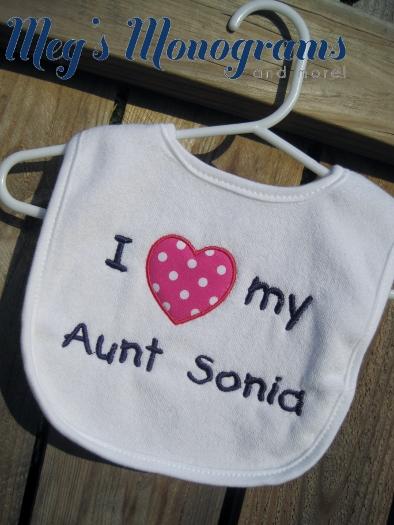 I love my Aunt, Uncle, Grandma, Grandpa, etc. big