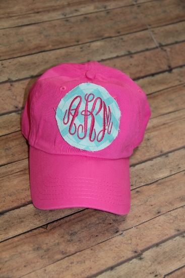 Monogrammed Patch Hat