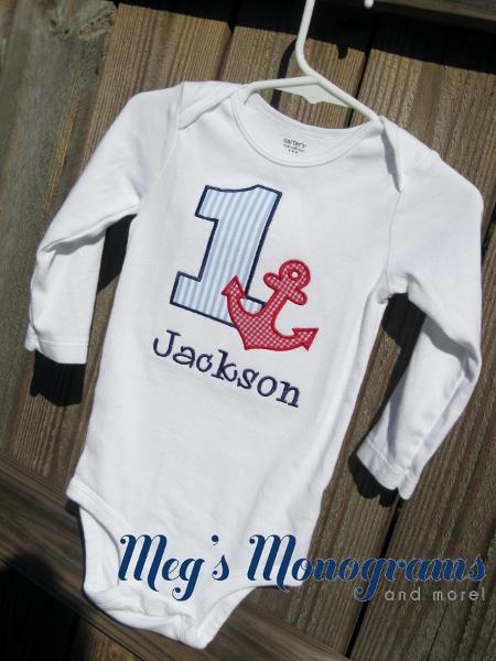 Anchor Birthday shirt