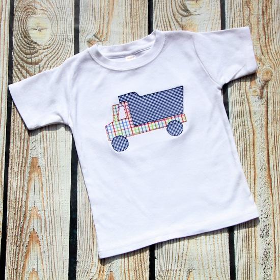 Boys Dump Truck Shirt