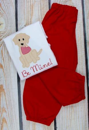 Valentine Puppy Be Mine