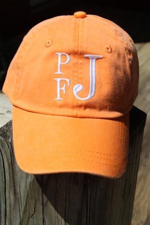 Toddler Monogram Hat