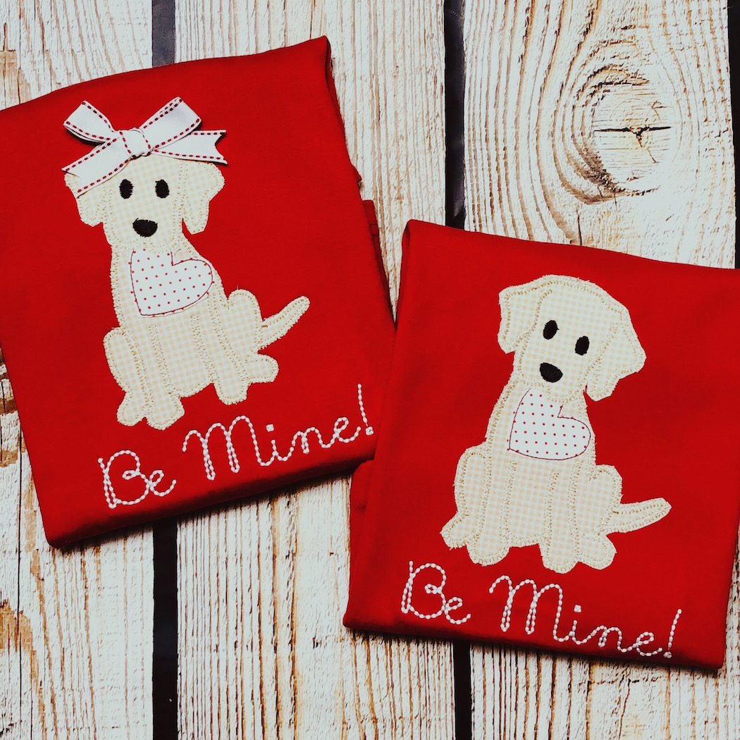 Be Mine Puppy Shirt